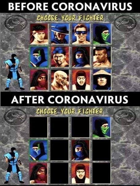 | BEFORE CORONAVIRUS | AFTER CORONAVIRUS |