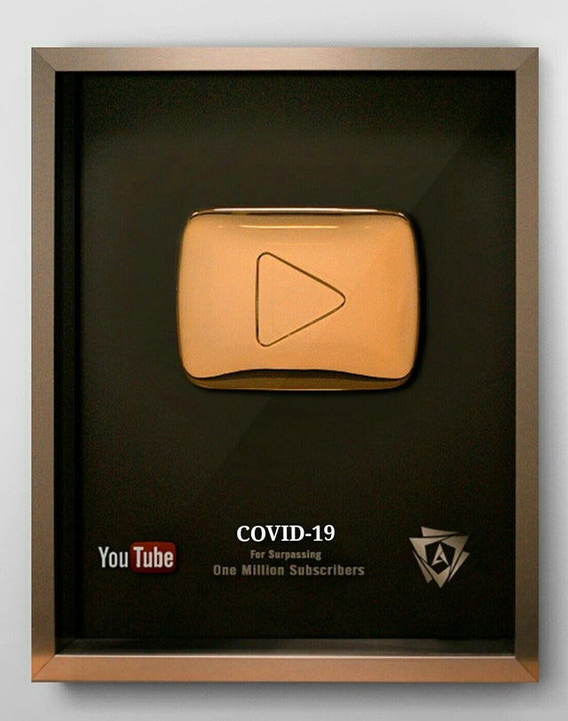 YouTube COVID-19 Far Surprising One Million Subscribers