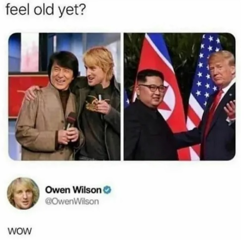 feel old yet? Owen Wilson > ©Owen Wilson WOW