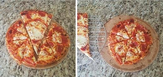Инструкция, как правильно резать пиццу.